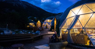 EcoCamp Patagonia_Community Domes