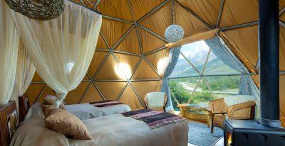 EcoCamp Patagonia_Suite Dome interior