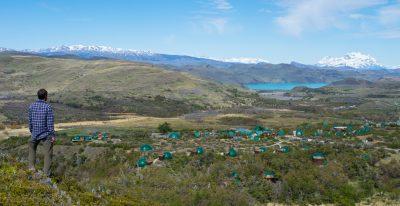 EcoCamp Patagonia_aerial view