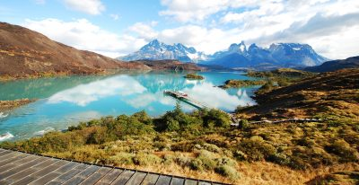 Explora Patagonia_catamaran dock