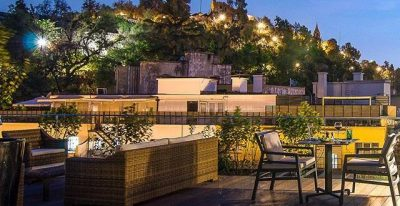 Hotel Magnolia_terrace