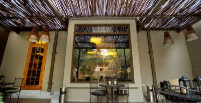 Lastarria Boutique Hotel_courtyard