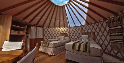 Patagonia Camp_twin yurt