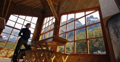 Refugio Los Cuernos_view