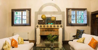 Residencia Histórica de Marchihue_living room