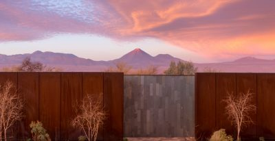 Tierra Atacama - sunset from the hotel