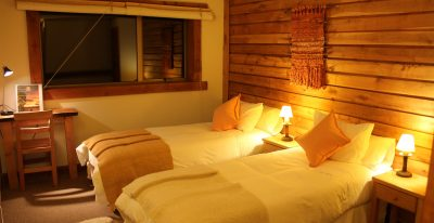 Weskar Patagonia Lodge_twin room