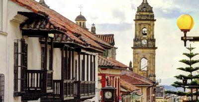 Bogota, Colombia - City Street