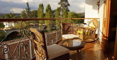 Campanario de la Villa_suite balcony