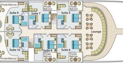 Comorant II - Upper Deck