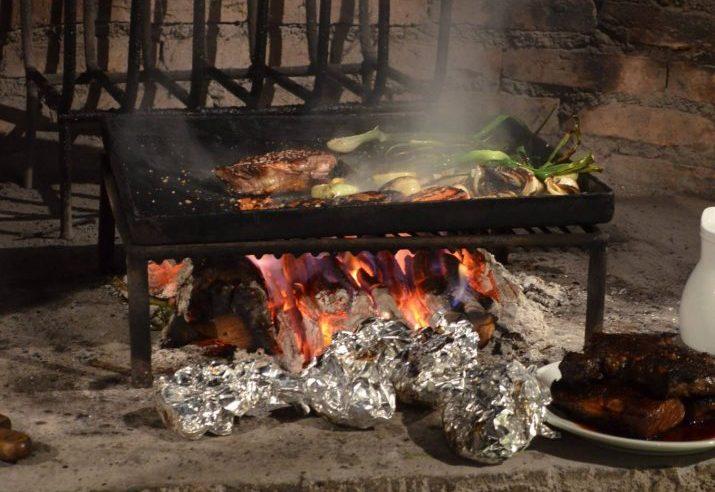 Cooking class at Finca Adalgisa, Mendoza, Argentina