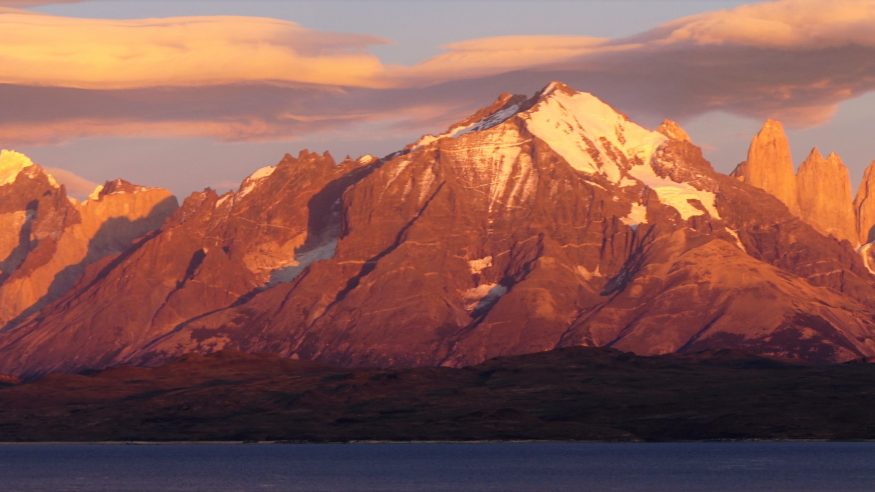 Sunrise Torres del Paine, Chile