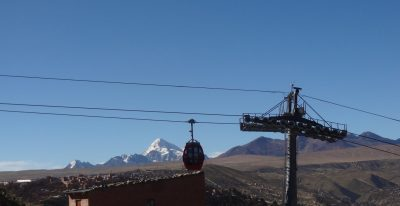 Cable car to La Paz