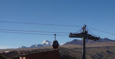 Cable car to La Paz