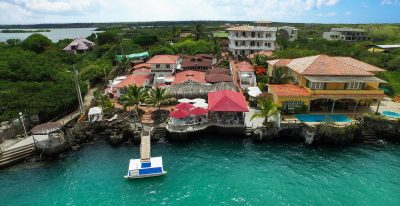 Angermeyer Waterfront Inn_aerial view