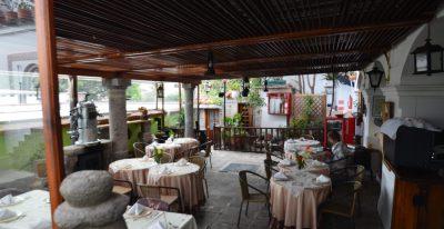 Casa San Marcos_dining terrace
