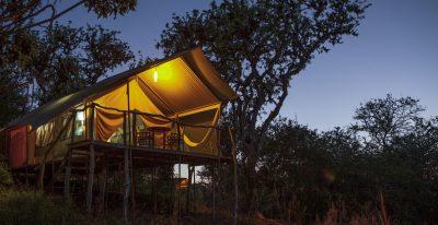 Galapagos Safari Camp_tent exterior