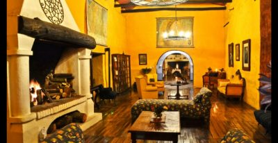 Hacienda Pinsaqui_common area