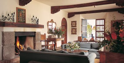 Hacienda Zuleta_living room