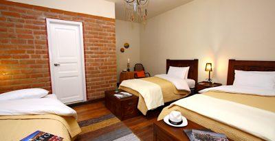 Portal de Cantuna_triple room