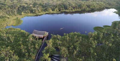Sacha Lodge_aerial view