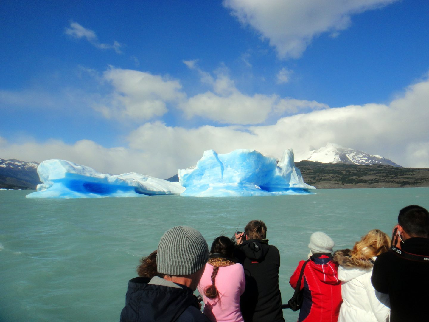 Glacier-gazing from the boat