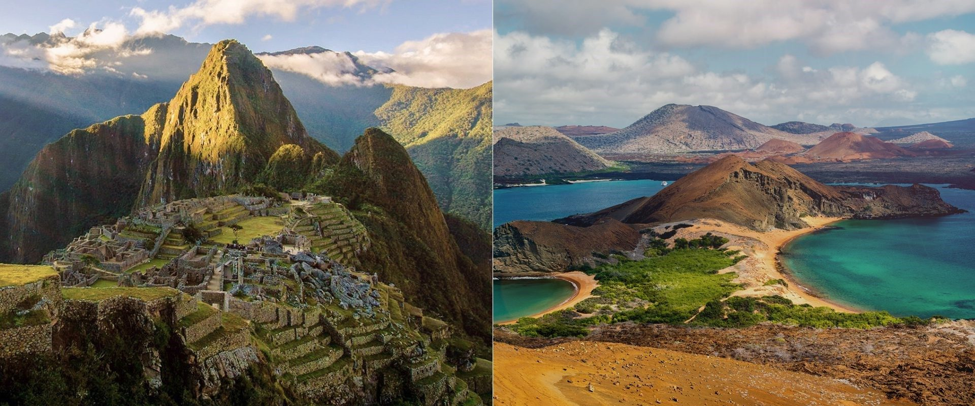 Machu Picchu and Galapagos