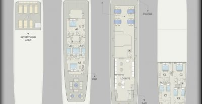 Grace - Deck plan