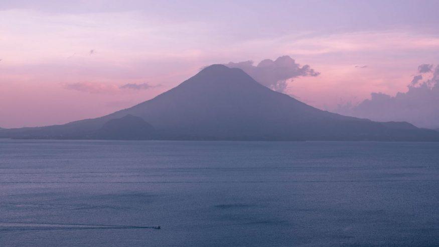 Guatemala - Lake Atitlan at Dusk