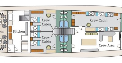 Infinity - Deck Plan - Lower Deck