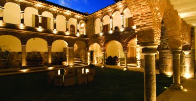 Inkaterra La Casona Cusco - Patio (photo credit Inkaterra)