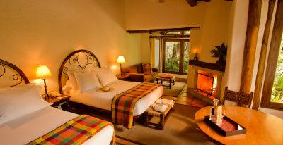 Inkaterra Machu Picchu Pueblo Hotel - Twin Junior Suite Deluxe (photo credit Inkaterra)