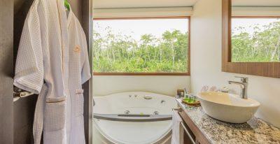 Manatee - Deluxe Cabin Bathroom