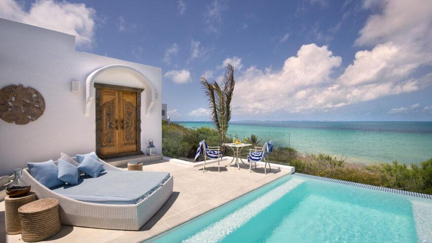 Villa Santorini, a beach resort in Mozambique