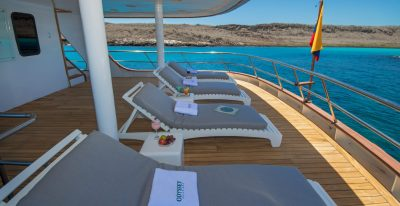 Galapagos Odyssey - Outside Terrace Upper Deck