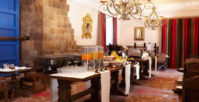Palacio del Inka_breakfast buffet