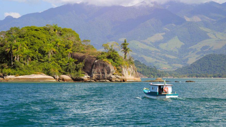 Brazil - Paraty Boat