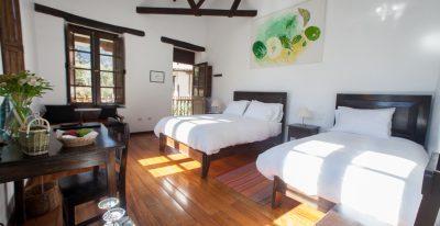 Albergue Ollantaytambo: room