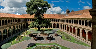 Hotel Monasterio_courtyard