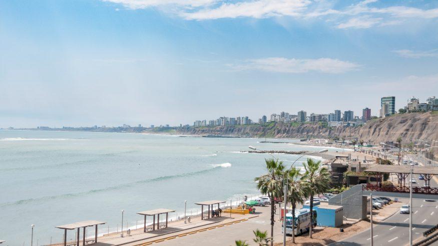 Miraflores Beach, Lima