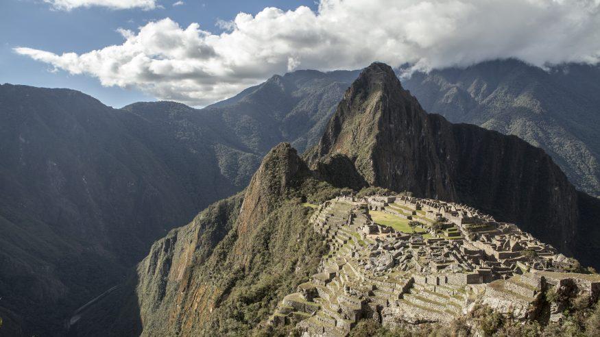 Machu Picchu from afar