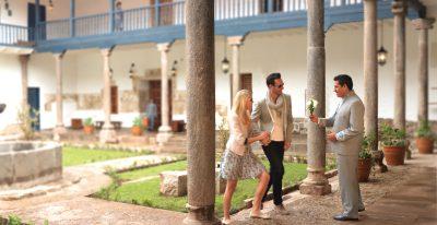 Palacio Nazarenas_courtyard