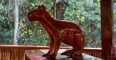 Posada Amazonas_statue