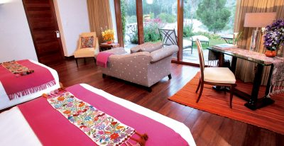 Rio Sagrado_twin room