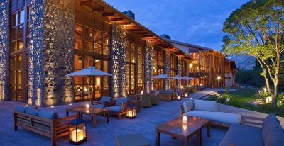 Tambo del Inka_restaurant terrace