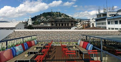Carlota - Rooftop terrace