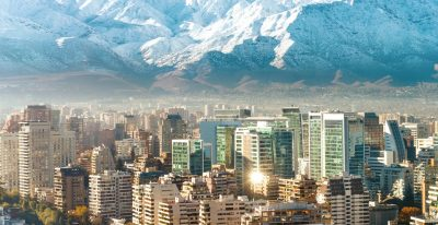 Chile - Santiago in winter