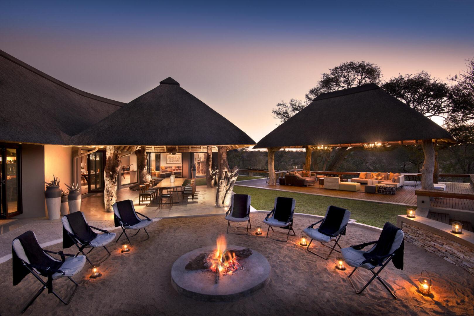 RockFig Safari Lodge_fire pit
