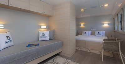 Galapagos Odyssey - Upper Deck Suite (Matrimonial)