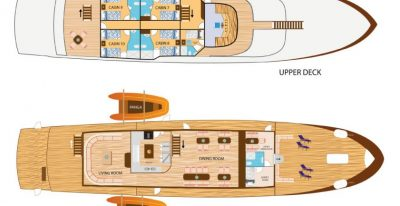 Tip Top IV - Deck Plan